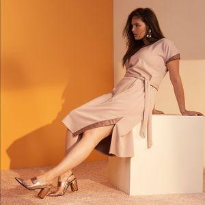 Prabal Gurung Lane Bryant Asymmetrical Slit Dress